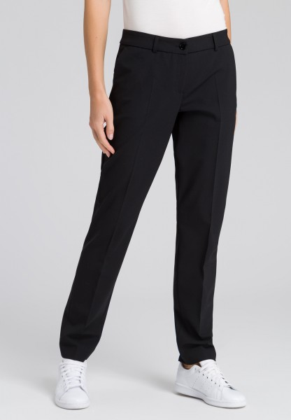 Pleat-front trousers with new wool