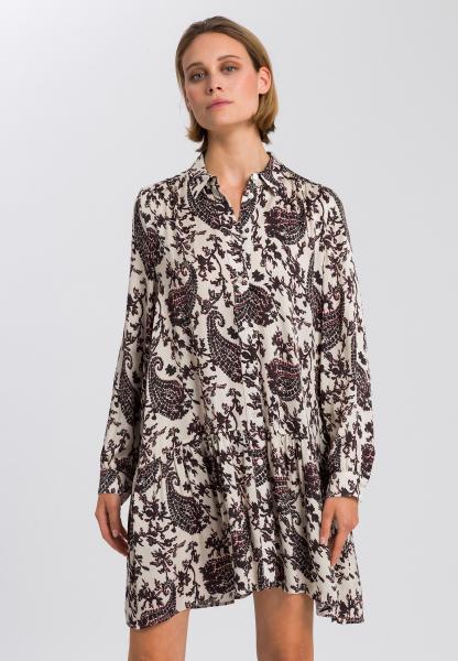 Blusenkleid mit Paisley-Print