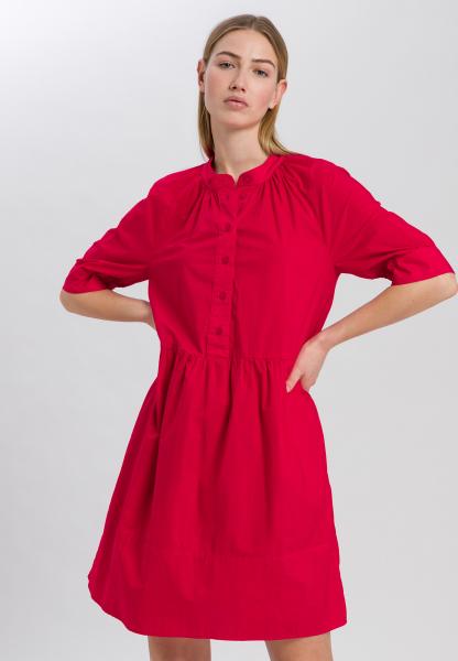 Hemdblusenkleid aus Baumwoll-Popeline