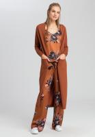 Strickmantel im Kimono-Stil