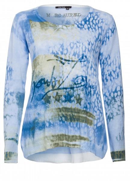 Pullover mit Effektprint