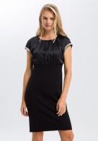 Midi-Kleid mit Highlights