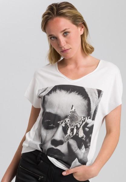 Shirt mit Fotoprint-Motiv