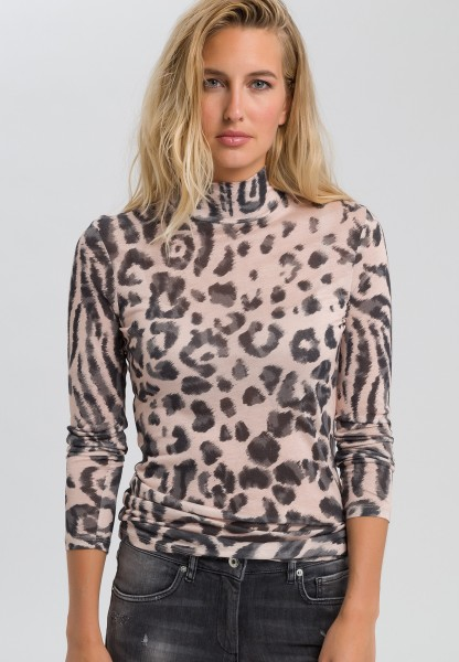 Shirt mit Animal-Print