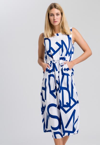 Kleid mit Schriftdruck