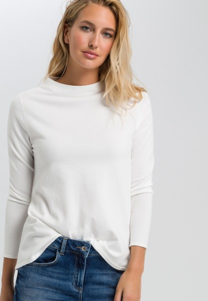 Pullover in A-Linie mit Turtleneck