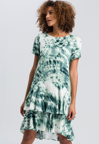 Kleid mit Batik-Print