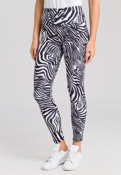 Leggings mit Animal-Print
