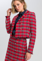 Blazer im Tweed-Style