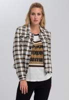 Blazerjacke im Tweed-Style