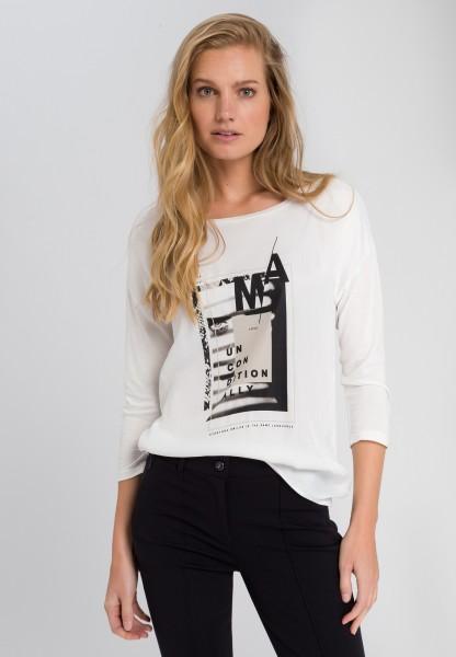 Shirt mit Schriftdruck