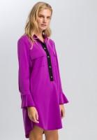 Blusenkleid im Uniformstil