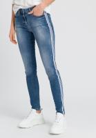 Blue Jeans mit Seitenstreifen