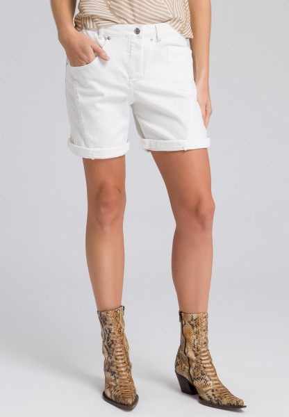 Shorts mit Umschlagsaum
