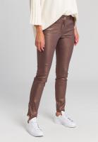 Hose in Metallic-Muster