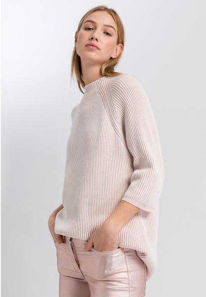Pullover im zweifarbigem Look
