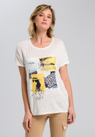 T-Shirt mit Fotoprint-Applikation