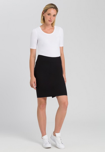 Pencil skirt with new wool