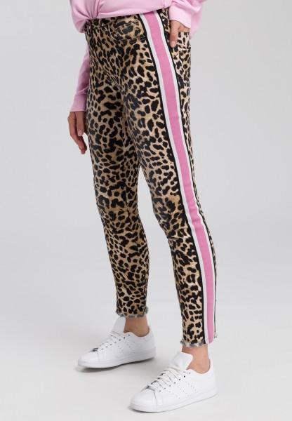 Hose mit Leopardenprint